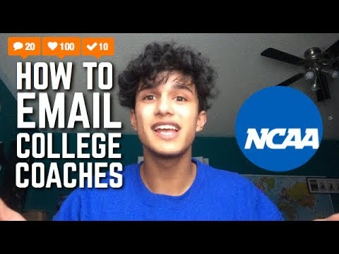 How to contact college coaches