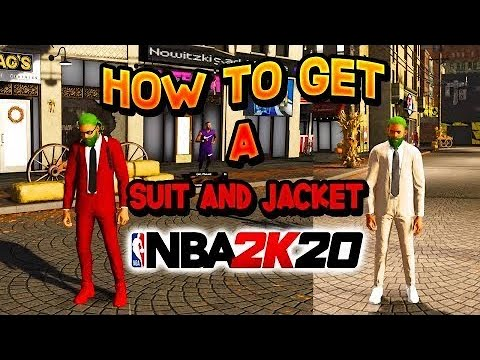 How to get a suit jacket before elite 3 - nba 2k20 *new* wear in the park