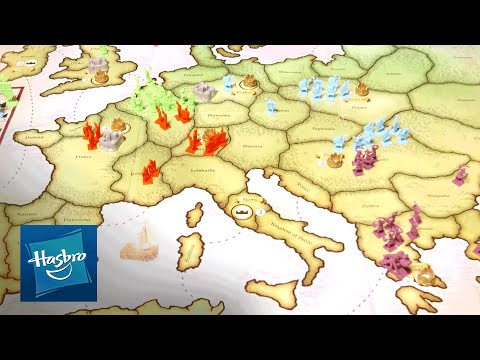 'risk europe' official instructions video - hasbro gaming