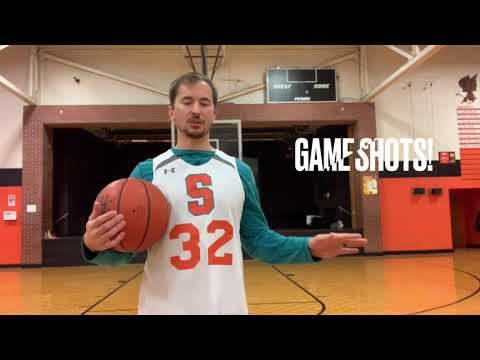 Middle school pe basketball shooting technique/drills