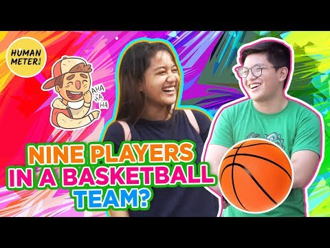 Tricky questions: how many players in a basketball team? | humanmeter