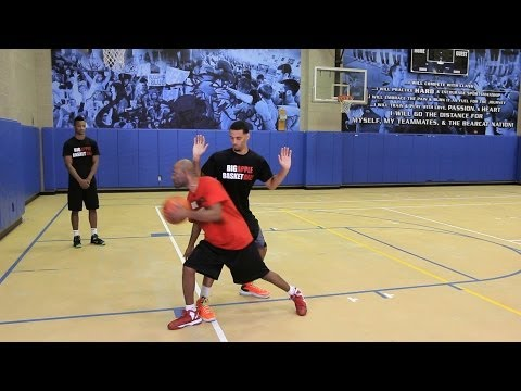 How to do a drop-step | basketball moves