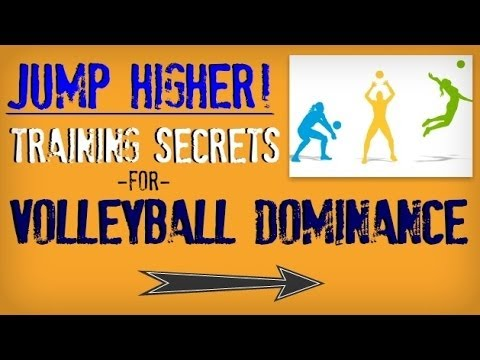 How to jump higher for volleyball | fast way to improve vertical jump | how to spike a volleyball