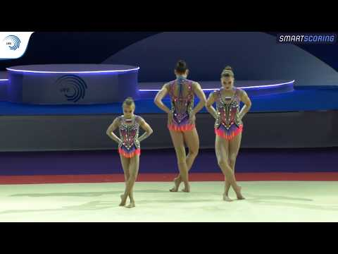 Women's group russia - 2019 acro europeans, all-around final