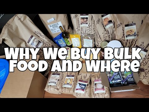 Why we buy bulk food and where | our first azure standard order