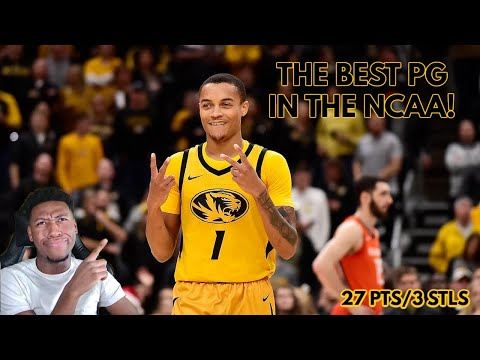 The best point guard in college basketball!! *xavier pinson* & mizzou vs tennessee highlights! 2021