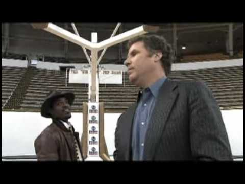 Will ferrell and andre 3000 show basketball skills