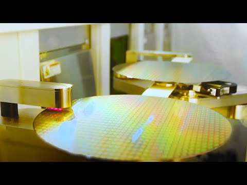 Amazing video - how the computer chips are made from silicon [hq]