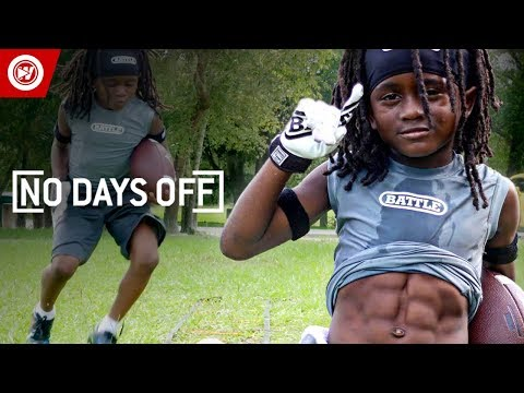 7-year-old football prodigy | blaze the great highlights