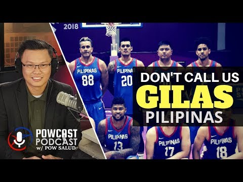 Why our basketball team in asian games don't want to be called gilas?