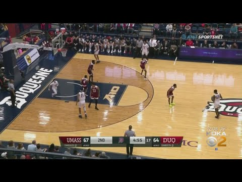 Duquesne, wvu face off in basketball charity game