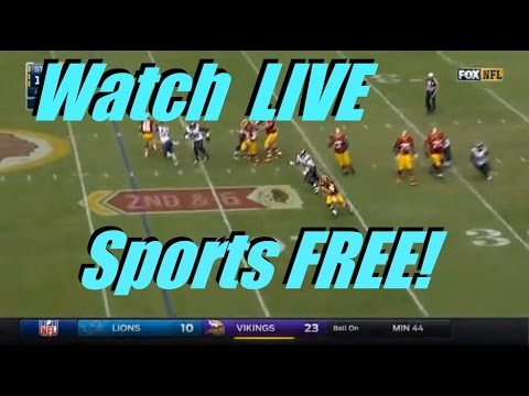 How to watch nfl games or any other major sport live on your pc for free! !! updated !!