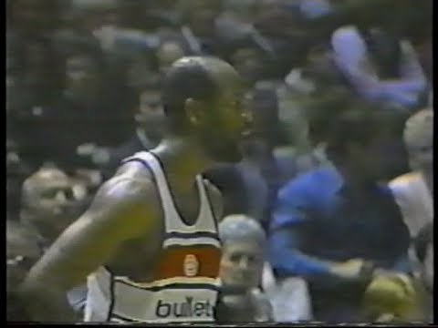 Gus williams (28pts) vs. 76ers (1986 playoffs)