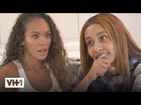 Evelyn fears feby is running away from her problems 🏃♀️ basketball wives