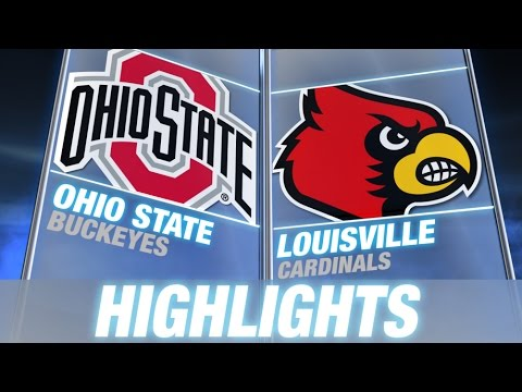 Ohio state vs louisville   2014 acc basketball highlights