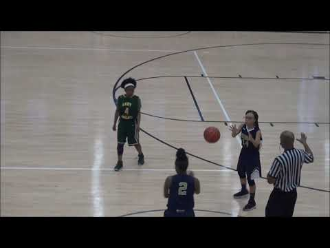 Clayton county girls middle school all star game on 02/05/2019 #basketball