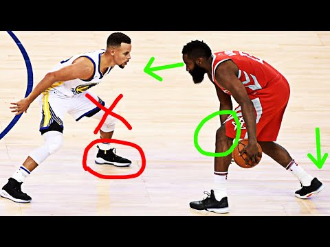 """Why you should want defenders to """"force you left"""" 
