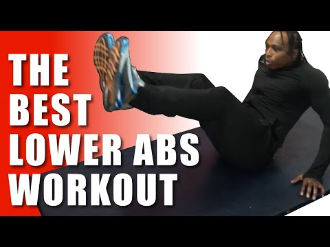 The best lower abs workout (focus: lower abs & love handles) ... power