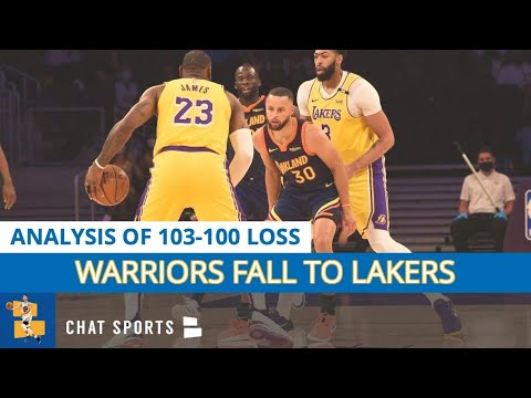 Warriors lose nba play-in game vs. lakers | steph curry goes off for 37 points vs. lebron james