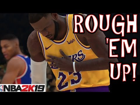 What happens when your entire team fouls out in nba 2k19?