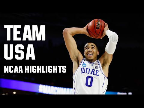 Usa olympic men's basketball team's march madness highlights
