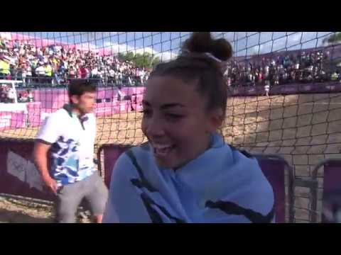 Wild celebrations as hosts argentina win women's beach handball gold at youth olympic games