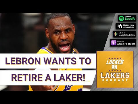 Lebron wants to retire (many years from now) as a laker! plus, draft needs for the lakers.