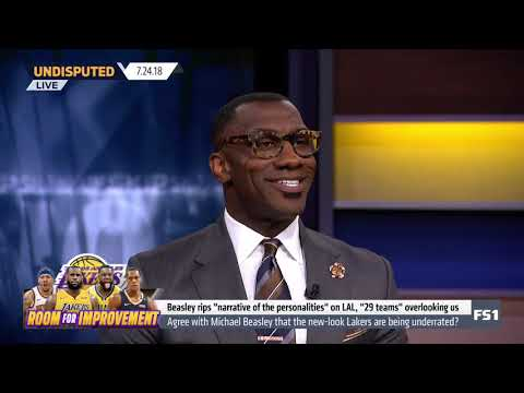 Shannon sharpe on why lebron & lakers are top 3 teams in the nba! undisputed