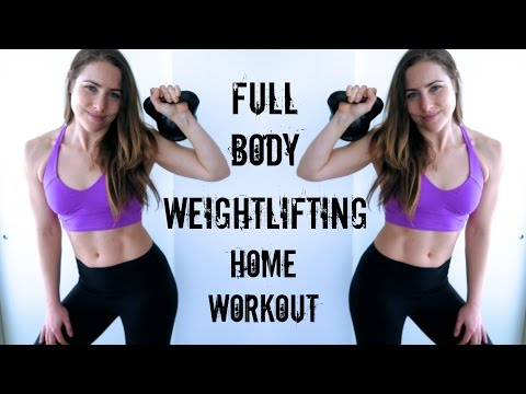 At home strength training / weight lifting workout