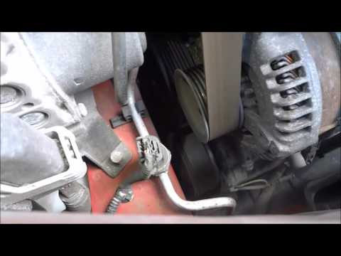 How to tell if an ac compressor clutch is engaging-air conditioning in a car