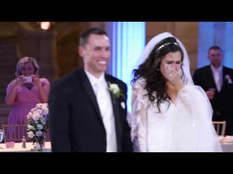This bride thought her first dance was ruined… you won't believe what happened next: