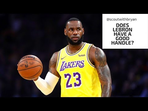 Does lebron james have a good handle?!!