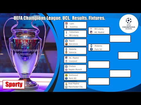 Uefa champions league. ucl. who is in semi-finals? results. fixtures.