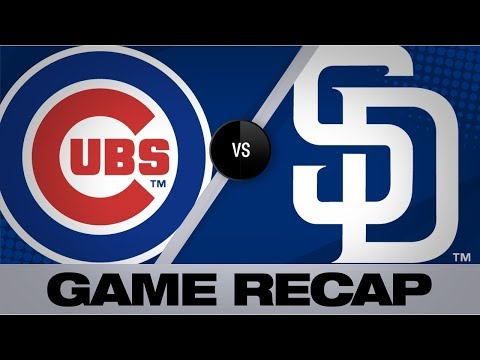 Paddack, margot lead padres in shutout win   cubs-padres game highlights 9/11/19
