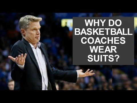 Why do basketball coaches wear suits? (and the story behind it)