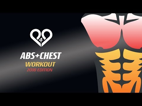 Fast chest abs workout at home with trainer tips - ultimate killer training by p4p