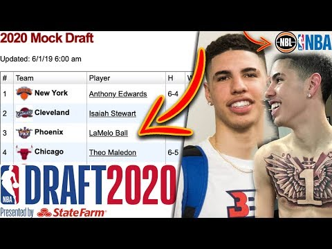 Lamelo ball now projected top 3 nba draft pick! with this decision?