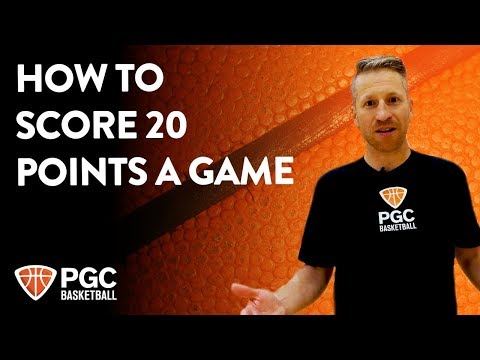How to score 20 points a game   skills training   pgc basketball