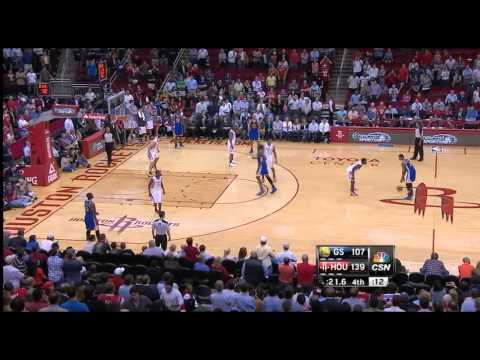 Warriors intentionally foul to prevent the rockets' record
