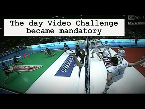 The day volleyball video challenge became mandatory | tell me a story