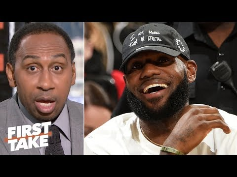 Lebron is still the best player in the world - stephen a. | first take