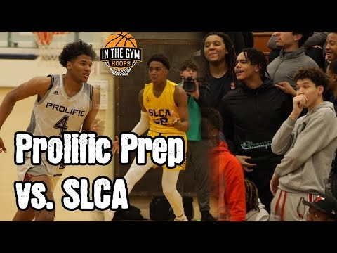 Jalen green goes crazy, prolific prep, st. louis christian academy get busy! they put nba numbers