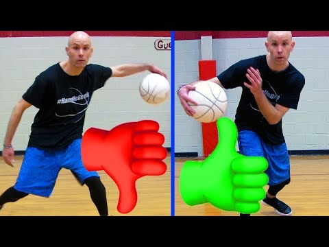 This makes or breaks all your dribble moves! hand position secrets