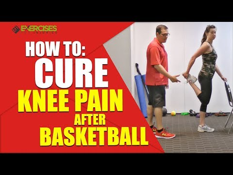 How to: cure knee pain after basketball