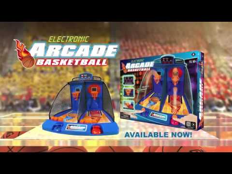 Electronic arcade basketball (gpd802) - introduction (42 seconds, english)