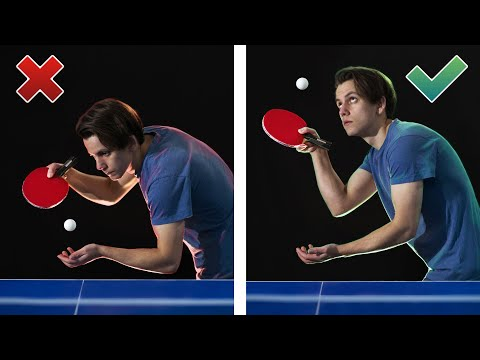 Things you are doing wrong in ping pong / table tennis mistakes