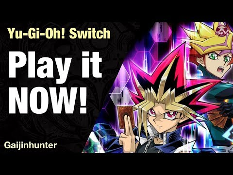 Yu-gi-oh! on switch: play it now