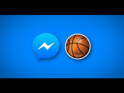 Play basketball on facebook messenger app [how to]