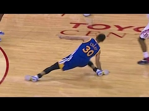 Steph curry playing injured in game 7 of finals according to trainer