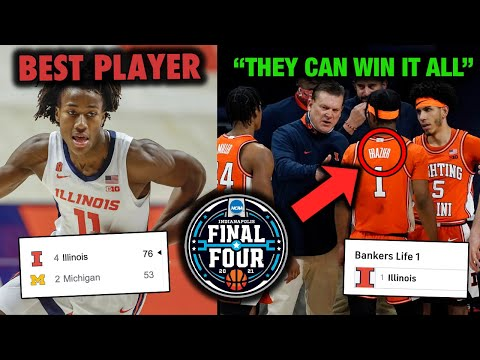 Why illinois is the best team going into march madness